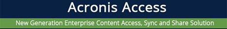 Acronis Access 0 - 250 User & 1 year of support, price per user