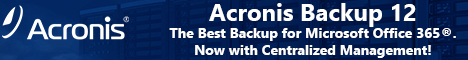 Acronis Backup for Office 365 Subscription License 5 Mailboxes 1 Year