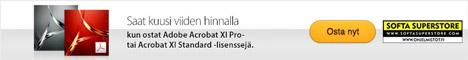 Acrobat XI Pro Win&Mac (FIN) TLP License 6 Pack - erikoistarjous 27.2.15 asti!