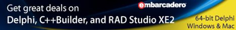 RAD Studio XE2 ESD Professional Named User