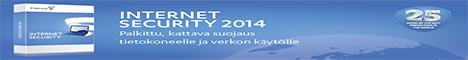 F-Secure Internet Security 2013 (FIN) CD 1-usr 1YR SuperTarjous raj.erä & 3+4 kk lisenssiaikaa kaupan päälle & v2014-ilmaispäivitys
