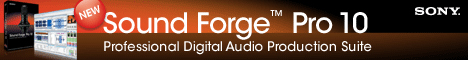 Sony Sound Forge Pro 10 Win (UK) CD