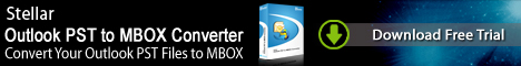 Stellar Outlook PST to MBOX Converter Win