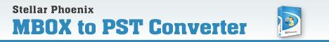 Stellar MBOX to PST Converter Win