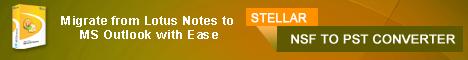 Stellar NSF to PST Converter Win
