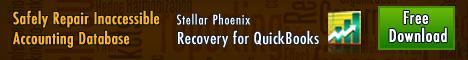 Stellar Phoenix Recovery for QuickBooks Win