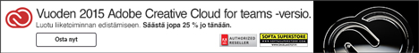 Adobe Creative Cloud for Teams All Apps Win&Mac (IE) VIP CLUB hinta per vuosi - Q3 2016 PROMO ajalla 30.6. - 2.9.16