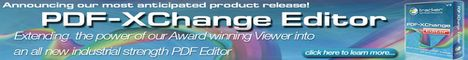 PDF-XChange Editor - Single User Licence + 1 Year Maintenance v5.x ESD