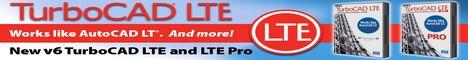 TurboCAD LTE v6 Win ESD
