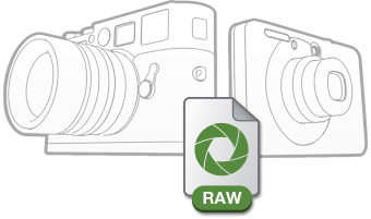 Support for RAW files