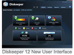 Diskeeper 12 New User Interface