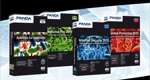 New Panda Security 2010 lineup
