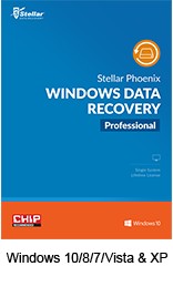 Stellar Phoenix Windows Data Recovery box
