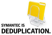 Symantec is Deduplication