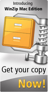 INTRODUCING WINZIP MAC EDITION - GET YOUR COPY NOW!