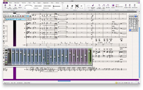 Professional sound library—only in Sibelius